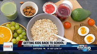 Getting your kids back to school ready with healthy nutrition