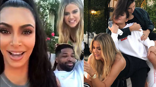 Kim Kardashian FORCES Tristan To UNBLOCK Her! | Khloe's Birthday Bash! - Video