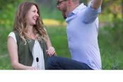 Wife Reveals Pregnancy to Husband in Surprise Photoshoot - Video