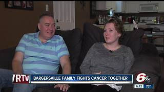 Family fights cancer together in Bargersville - Video