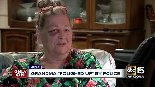 Family alleges Mesa police assaulted their grandmother
