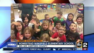 Good morning from Homestead Wakefield Elementary school! - Video
