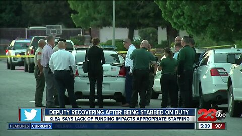 KLEA: stabbed deputy highlights KCSO staffing issues
