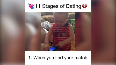 Babies Explain 11 Stages of Dating