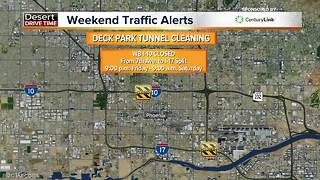 Weekend traffic alerts - Video
