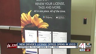New license office opens in Johnson County