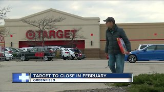 Target closing Greenfield location