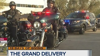 The Grand Delivery for 13 Days of Giving - Video