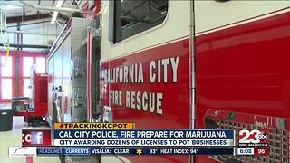 Cal City police, fire prepare for incoming medical marijuana cultivation businesses - Video