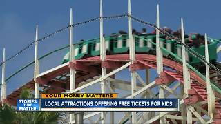 San Diego attractions offer free tickets for kids - Video