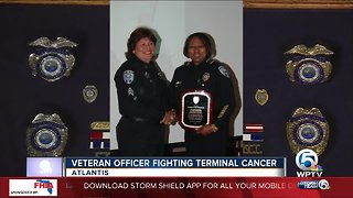 South Florida police officer fighting terminal liver cancer