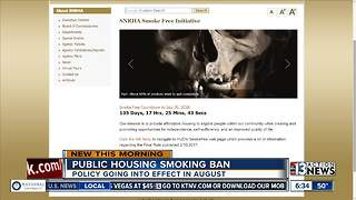 Public housing smoking ban in Nevada - Video