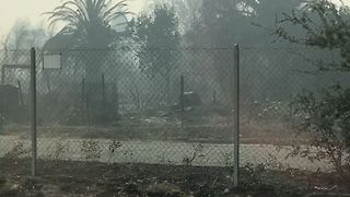 Santa Rosa Neighborhoods Turned to Rubble After Wildfires - Video