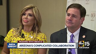 Governor Doug Ducey talks border battle, trade with Mexico