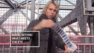 Magic in the Dark: NYC's Blind magician - Video