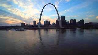 Drone Captures Footage of Flooding in St. Louis - Video