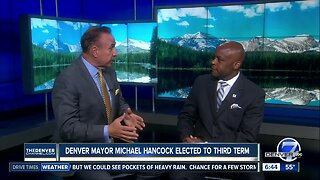 Denver Mayor Michael Hancock discusses his victory