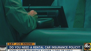 Is getting rental car insurance important? - Video