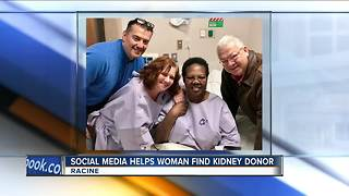 Tweet helps Racine woman find kidney donor - Video