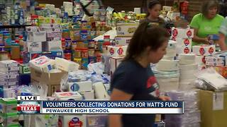 'It's just been phenomenal;' Donations continue in Pewaukee after JJ Watt asks for help - Video