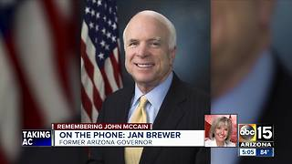 Arizona leaders remembering Sen. John McCain