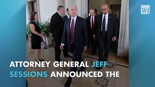 Sessions Announces Crackdown Against Leakers, Considers Action Against Press - Video