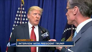 One-on-One with President Donald Trump on Foxconn, Harley-Davidson