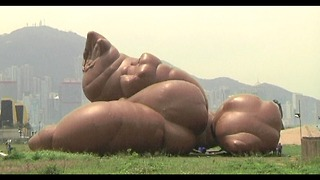 Giant Inflatable Dog Poo - Video