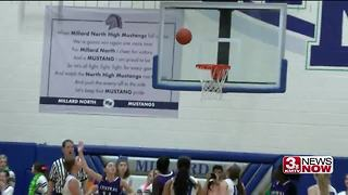 omaha central vs millard north girls - Video