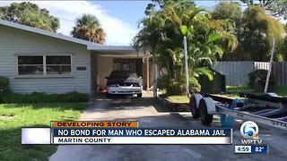 No bond for man who escaped from Alabama jail - Video