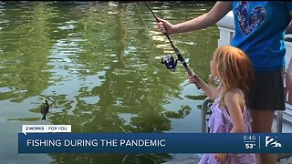 Mindful Moment with Mike: Fishing during the pandemic