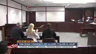 Attorney General Pam Bondi testifies about the encounter with her alleged stalker - Video