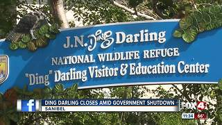 Ding Darling sees impact of Government Shutdown - Video