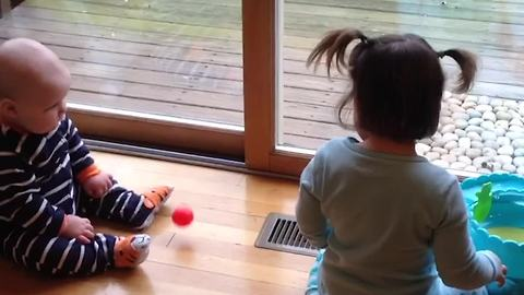 Hilarious Sibling Rivalry