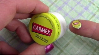 How to make a miniature lip balm - Video