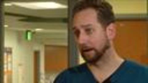 Growing number of male nurses shattering stereotypes
