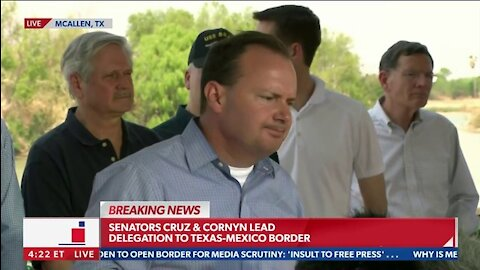 Sen. Ted Cruz and Other Republicans give Remarks at the Southern Boarder