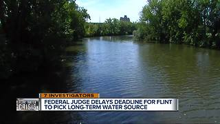 Federal Judge gives Flint City Council one more day to help decide long-term water source - Video