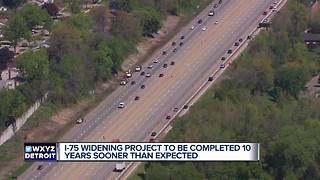 I-75 project will be done years earlier - Video