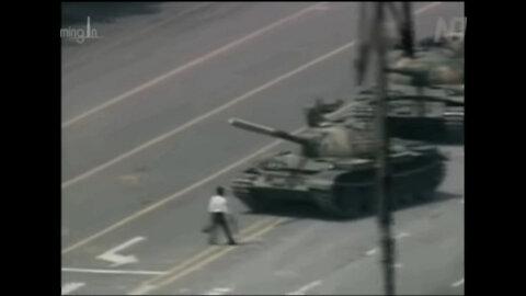 Tiananmen Square Massacre of Protesting Students