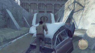Mafia 2 - Secret place - Behind invisible walls - Getting to a gutter near Clemente's slaughterhouse