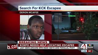KCK police searching for man who escaped custody