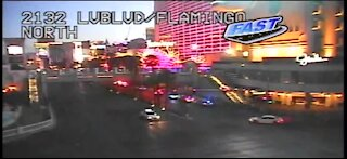 PD: 1 person shot on Las Vegas Strip sidewalk, near Flamingo Road