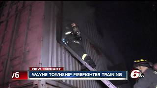 Wayne Township crews learn to battle basement fires - Video