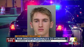 Deputies: McDonald's employee shot two female coworkers, left them fighting for their lives - Video