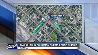 Two passengers struck and killed during police pursuit in Nampa