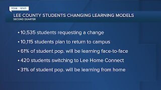 Lee County students changing learning models