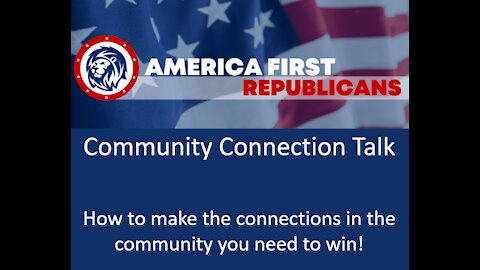 AFR Community Connection Talk