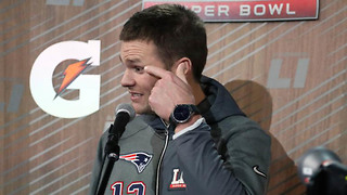 Tom Brady Reveals What He'll Do with His Jersey After the Super Bowl if the Patriots Lose - Video