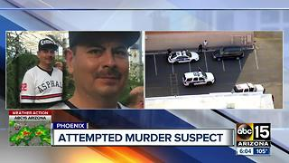 Police searching for man who shot wife in Phoenix - Video
